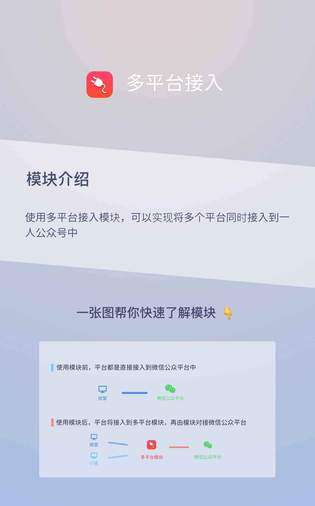 wq模块公众号多平台接入v2.0.3-渔枫源码分享网